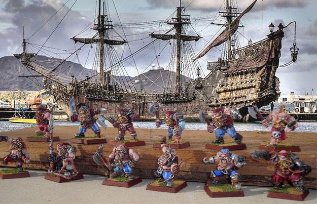 Armée de pirates nains Queen-10