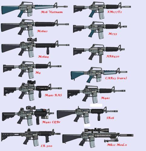 Différentes marques et modèles de répliques! M4_m1610