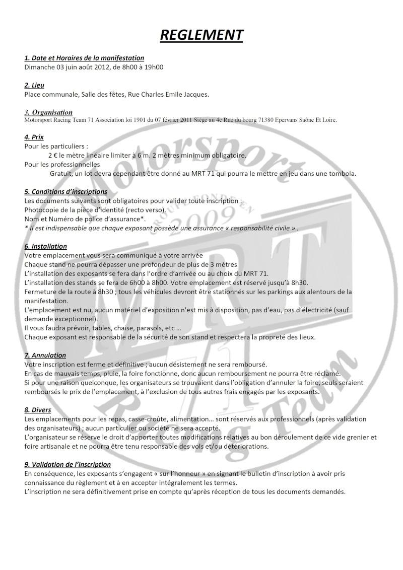 Réglement du vide grenier et de la foire Reglem10