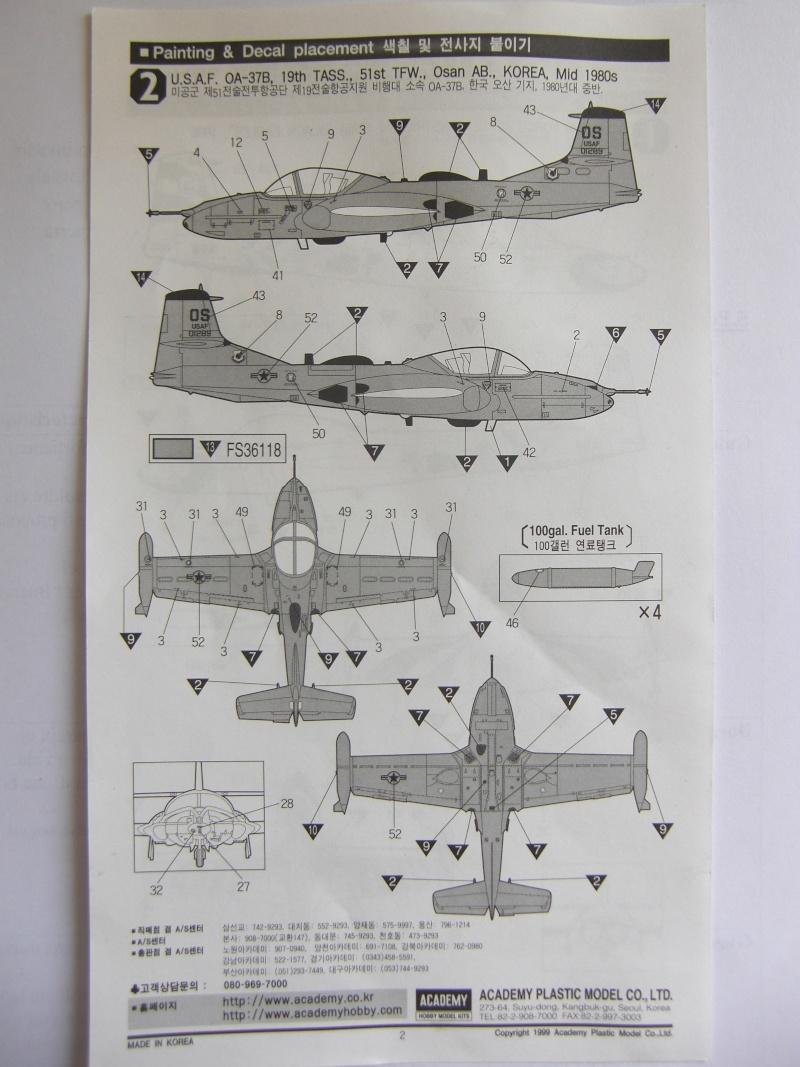 [1] A-37B - 1/72 - Academy - Nº1672 Cimg8218
