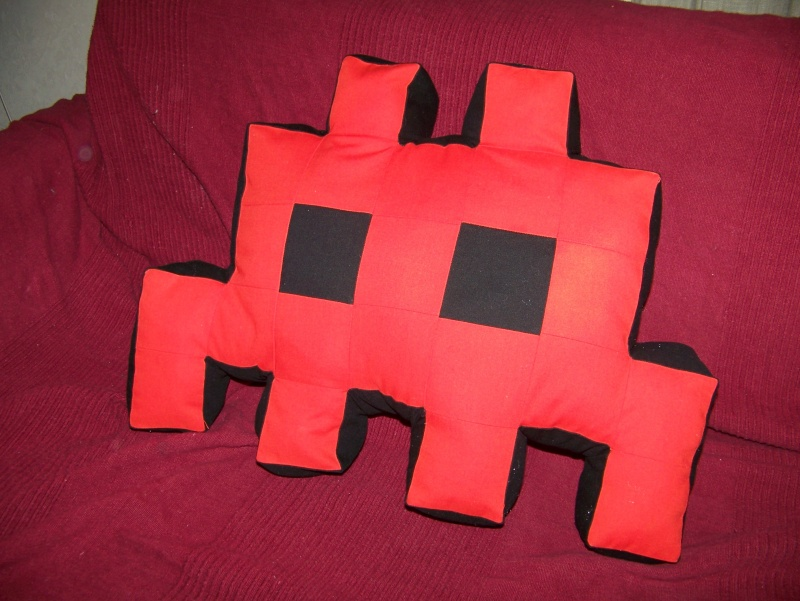 Space invader coussin 100_8716