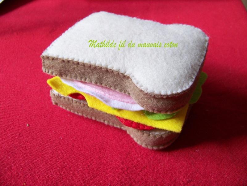Dinette en feutrine Sandwi10