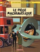 Les aventures de Philip et Francis - Série [Veys, Pierre & Barral, Nicolas] Couv_110