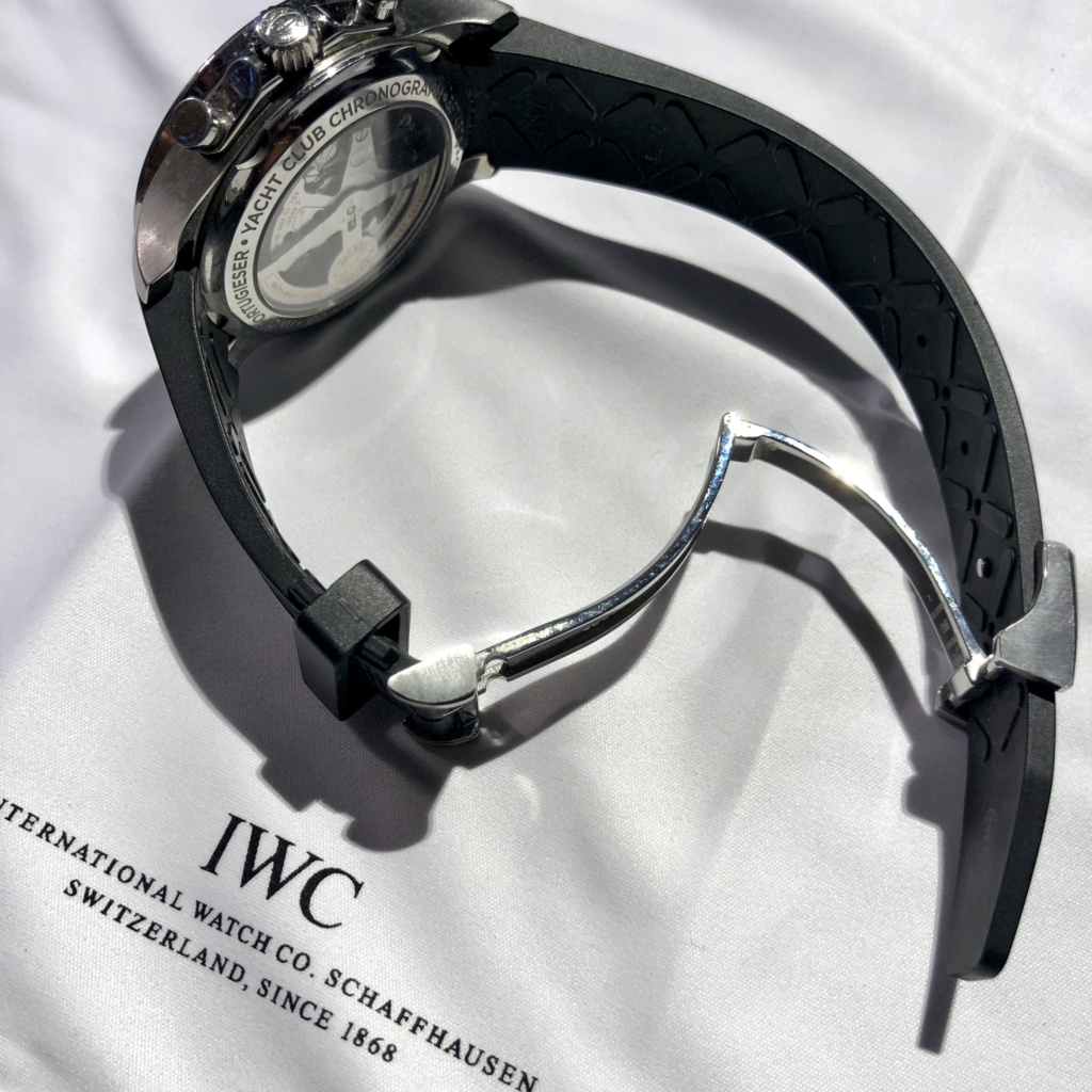 [Baisse de prix][Vends] IWC Portugaise Yacht Club Chrono (gris, 390503) - 7900 € 410