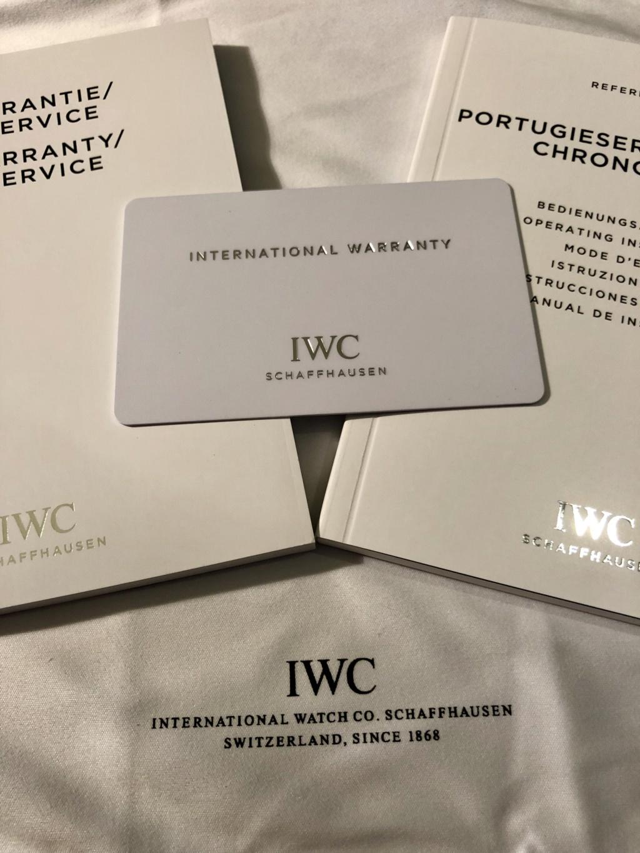 [Baisse de prix][Vends] IWC Portugaise Yacht Club Chrono (gris, 390503) - 7900 € 710