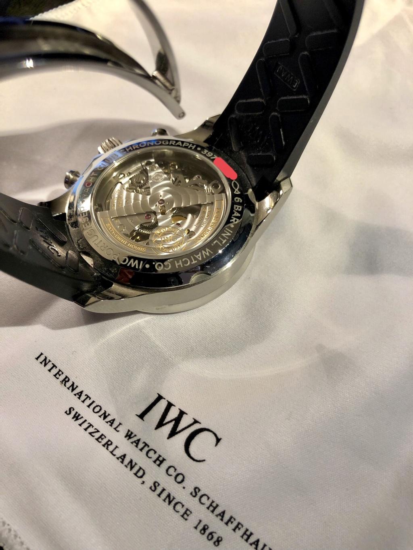 [Baisse de prix][Vends] IWC Portugaise Yacht Club Chrono (gris, 390503) - 7900 € 810