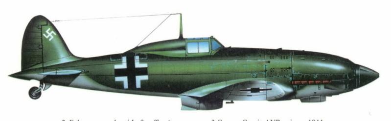 MC 202 German Luftwaffe Macchi36
