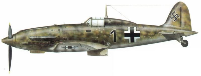 MC 202 German Luftwaffe Mc202s37