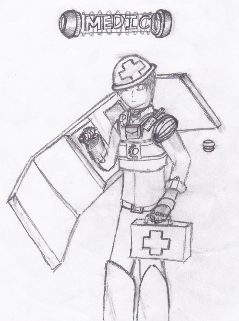 All of my crappy drawings as of late Medic_10