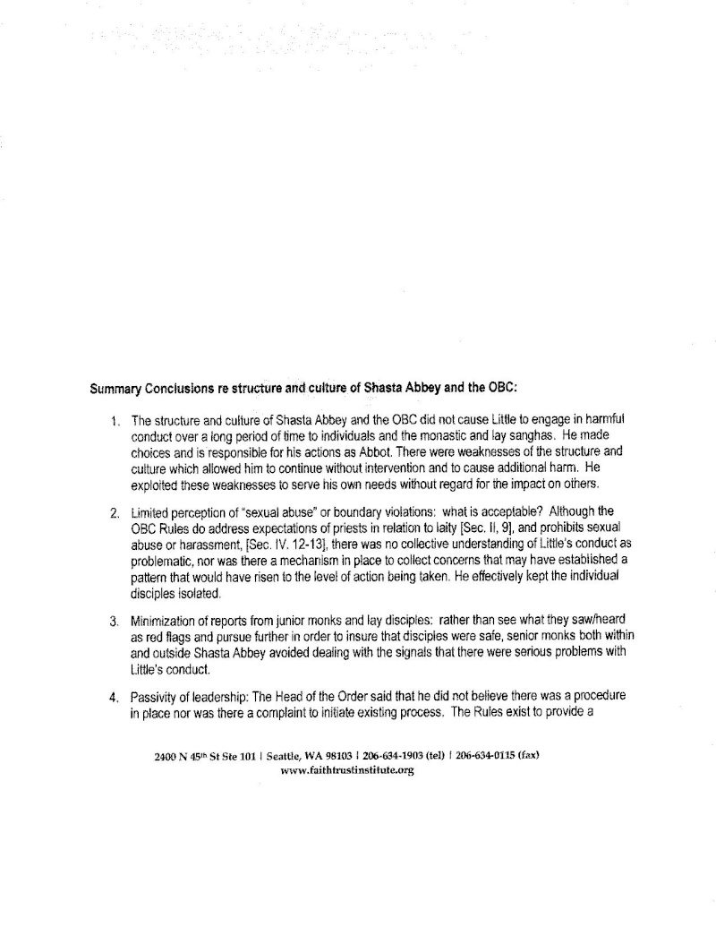 FTI Report Summary and 2011 Conclave Statement - Page 2 Summar14