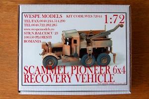 Scammel pioneer 6x4 recovery vehicle en AFN - Wespe 1/72 Wespe_10