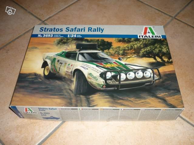 lancia stratos  safari rally  de chez italeri 86121513