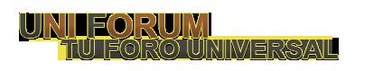 Uni forum Tu foro Universal! 11410