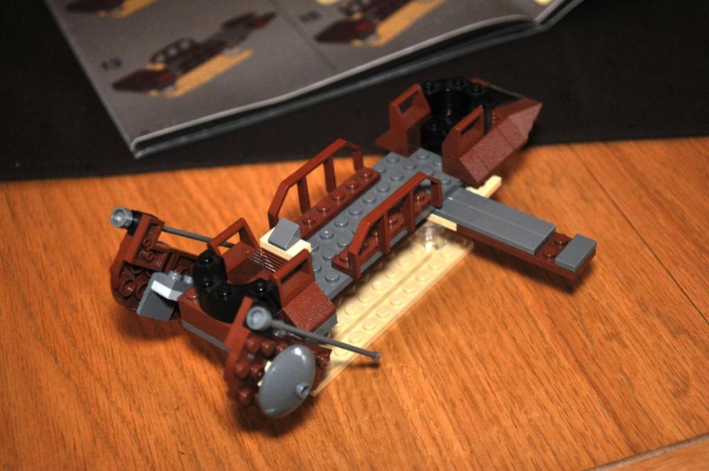 Lego - 6210 - Barge de Jabba Dsc_0105