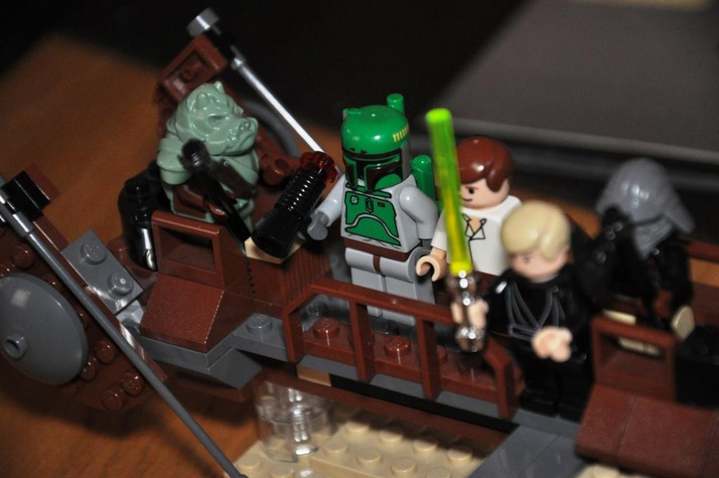 Lego - 6210 - Barge de Jabba Dsc_0108