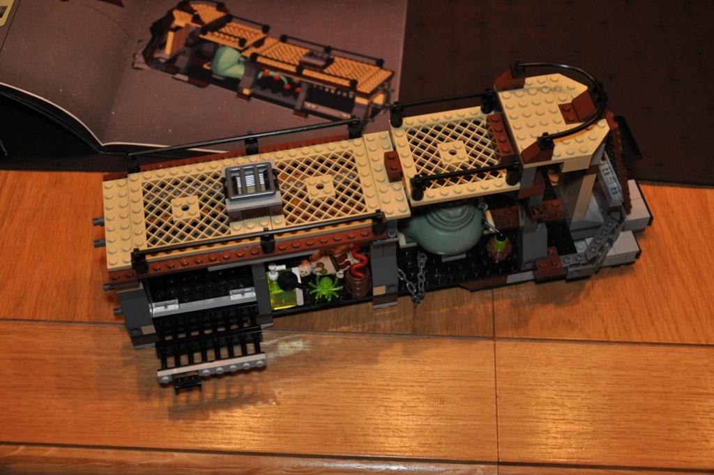 Lego - 6210 - Barge de Jabba Dsc_0121