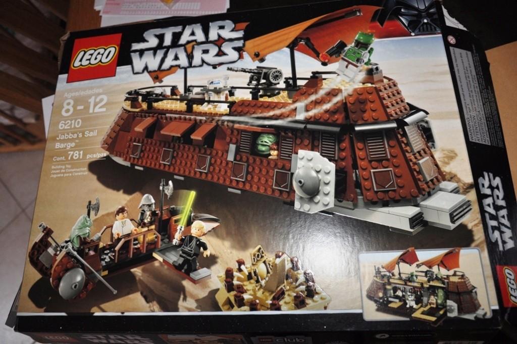 Lego - 6210 - Barge de Jabba Dsc_0496
