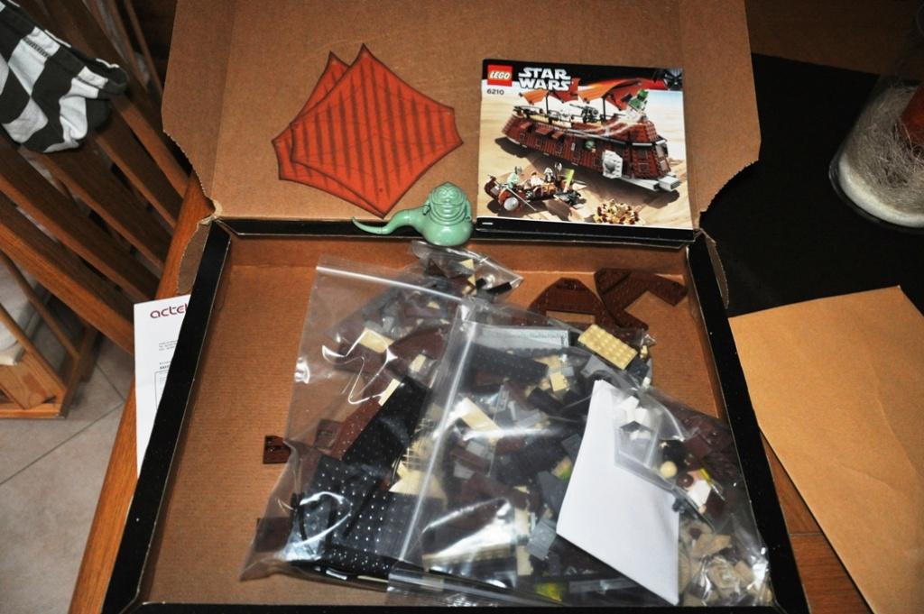Lego - 6210 - Barge de Jabba Dsc_0497