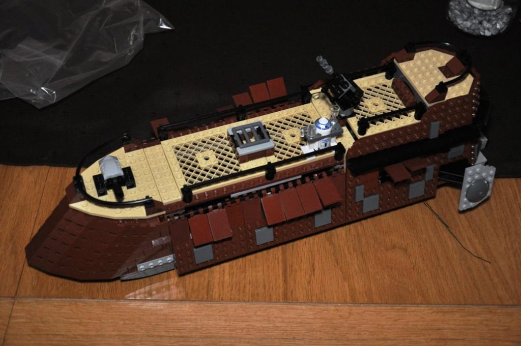 Lego - 6210 - Barge de Jabba Dsc_0520