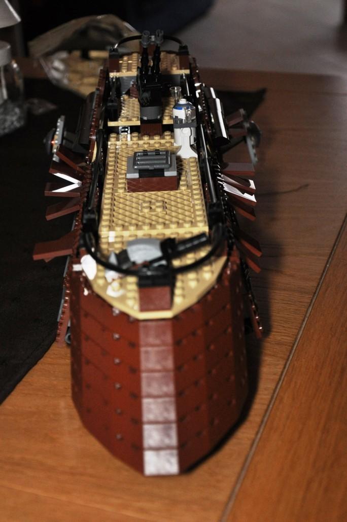 Lego - 6210 - Barge de Jabba Dsc_0521