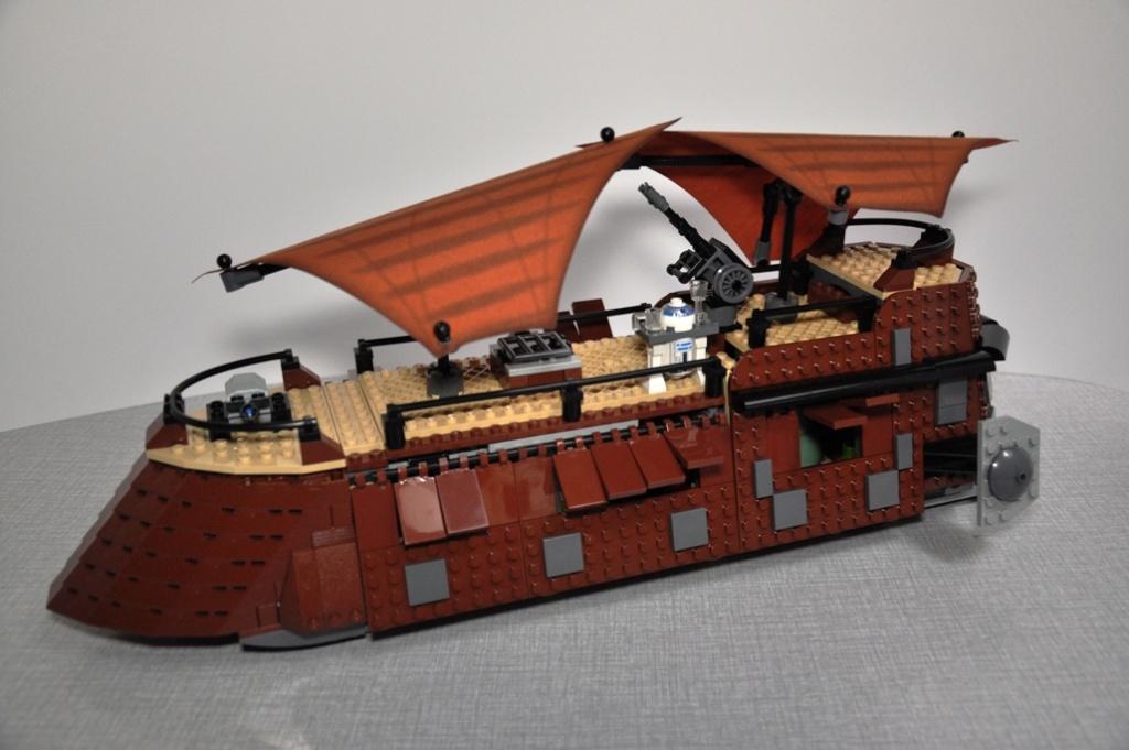 Lego - 6210 - Barge de Jabba Dsc_0522