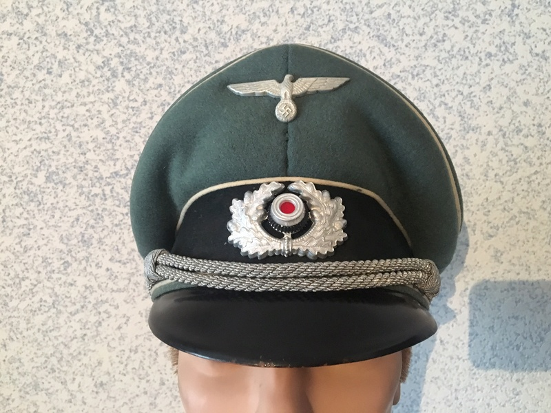 Passion Schirmmütze WW2 (casquettes sous Off / Off)  Img_3310