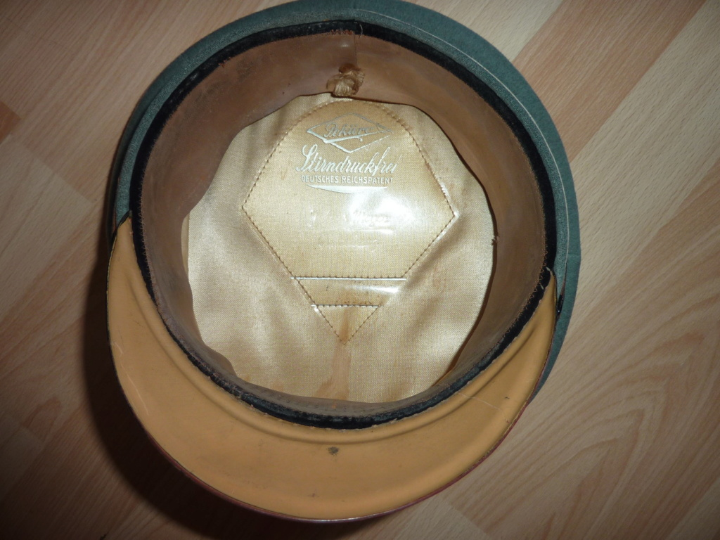 Passion Schirmmütze WW2 (casquettes sous Off / Off)  P1060636