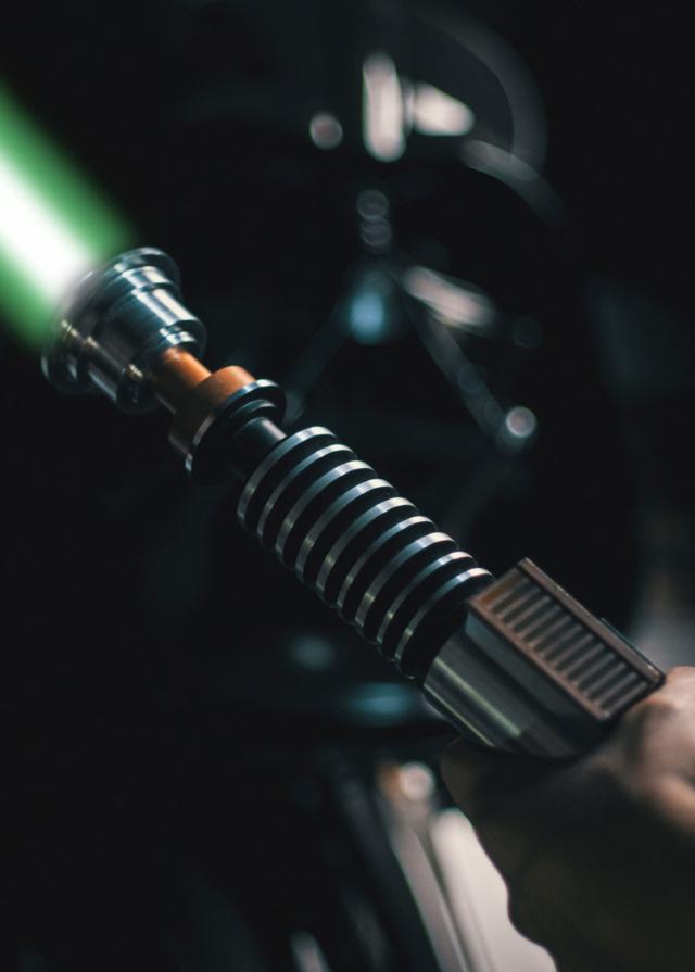 Nicksdad prototype 1 of 1 ROTJ LUKE V1 Sabre laser !! Baisse de prix! Good611