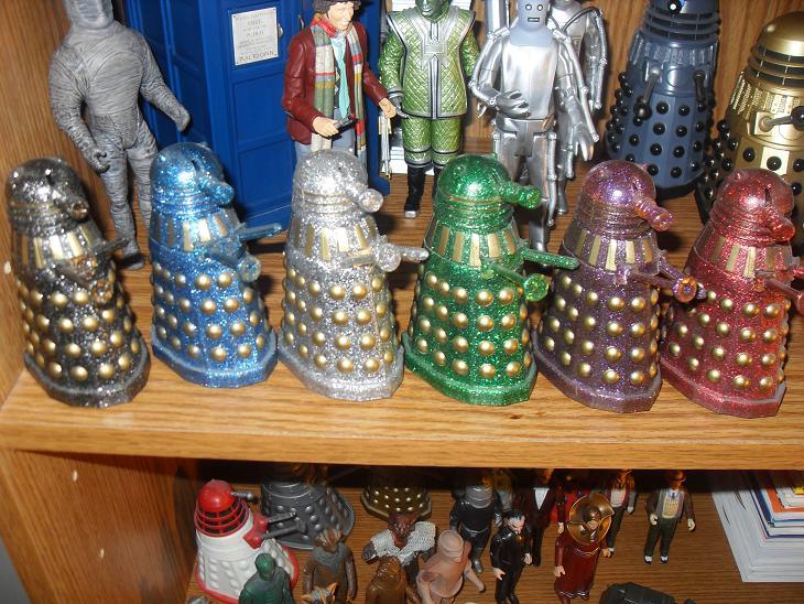 Vintage Dapol Doctor Who Figures Dapol510