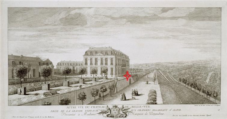 Le château de Bellevue et le Hameau de Mesdames - Page 5 Gravur10