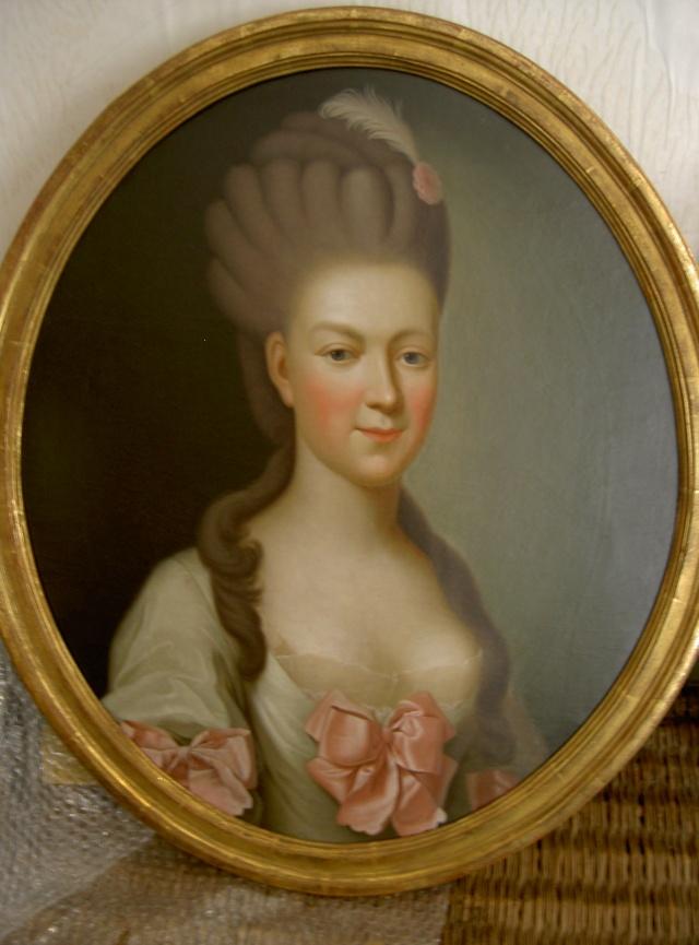 Hesse - Charlotte de Hesse Darmstadt, duchesse Charles de Mecklembourg Strelitz Pict3712