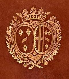 La signature et les armes (blason) de la princesse de Lamballe Prince11