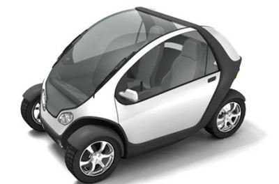 Macchina del futuro-City Car Cityca10