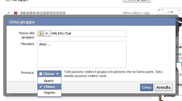 Come creare un gruppo su Facebook Crea_b10