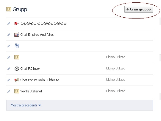 Come creare un gruppo su Facebook Gruppo10