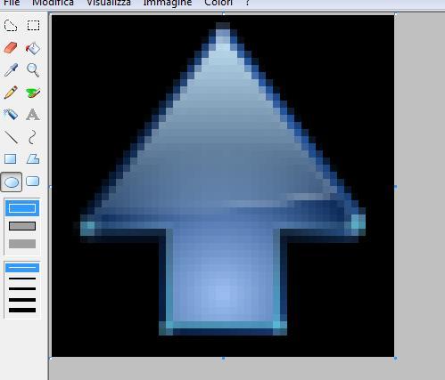 Cambiare colore di un immagine con Paint Guida510