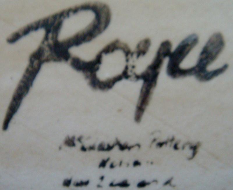 Royce McGlashen & McGlashen Potteries marks Dsc00639