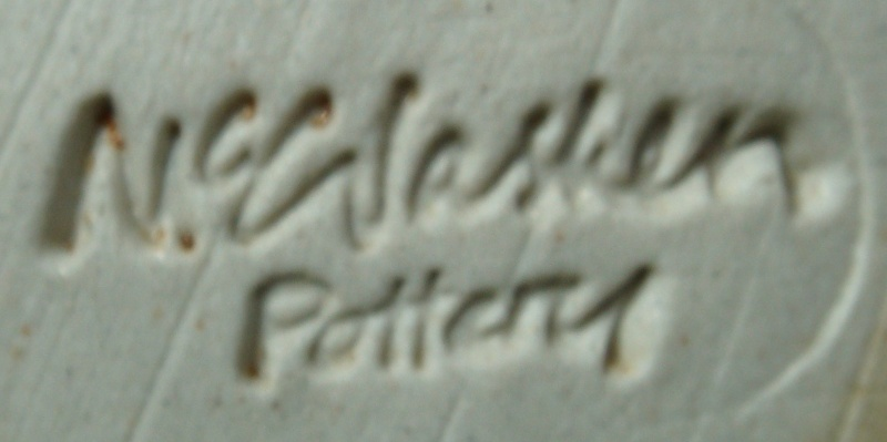Royce McGlashen & McGlashen Potteries marks Dsc00647