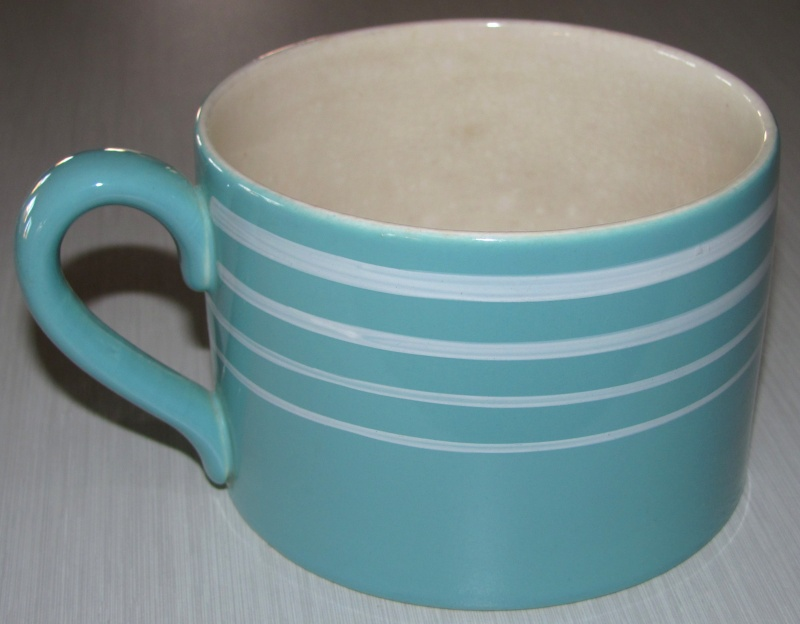 1393 large mug from Alice - Is this New Zealand pottery? Teal_m10
