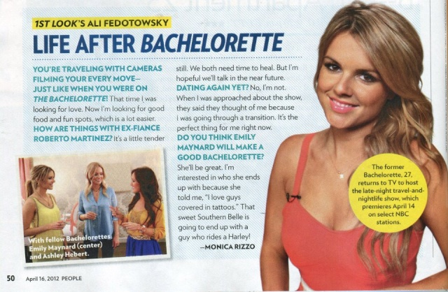 Ali Fedotowsky & Kevin Manno - Bachelorette 6 - Discussion 56250410