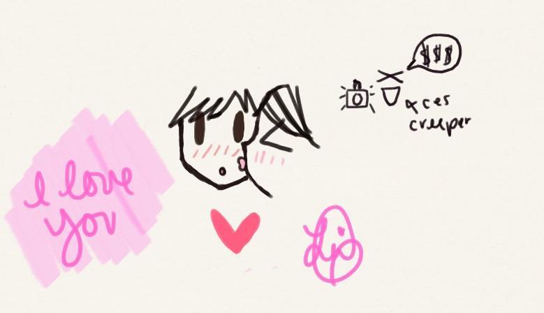 Opas drawing <3 Fez34i10