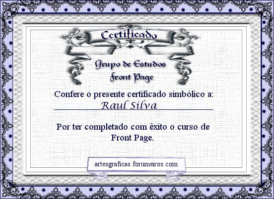Certificados Raul10