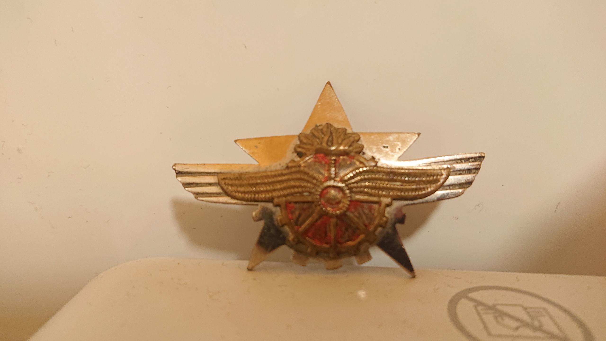 Insigne aviation soviétique Dsc_1226