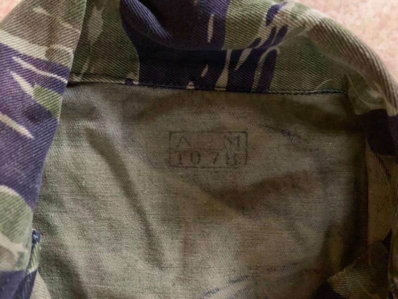 Veste ARVN Tiger Stripe TDD S-l16016