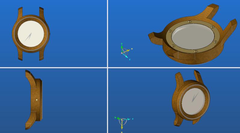 Conception et fabrication d'un boitier en loupe d'orme Boitie11