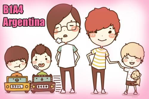 B1A4 Argentina Fan Club