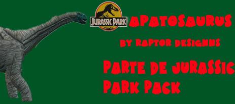 godies de jurassic park pack Apato10
