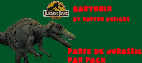 godies de jurassic park pack Bary10