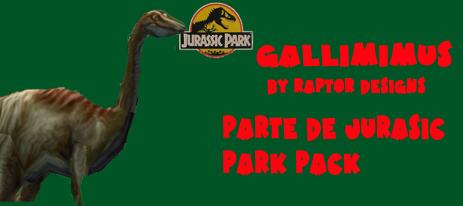 godies de jurassic park pack Galli10