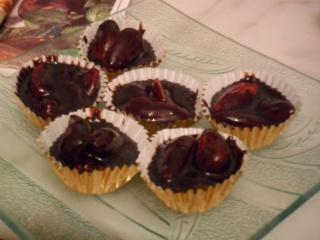 chocolat - NOUGAT°°°AUX°°°AMANDES°°°ET°°°AU°°°CHOCOLAT Sam_1225